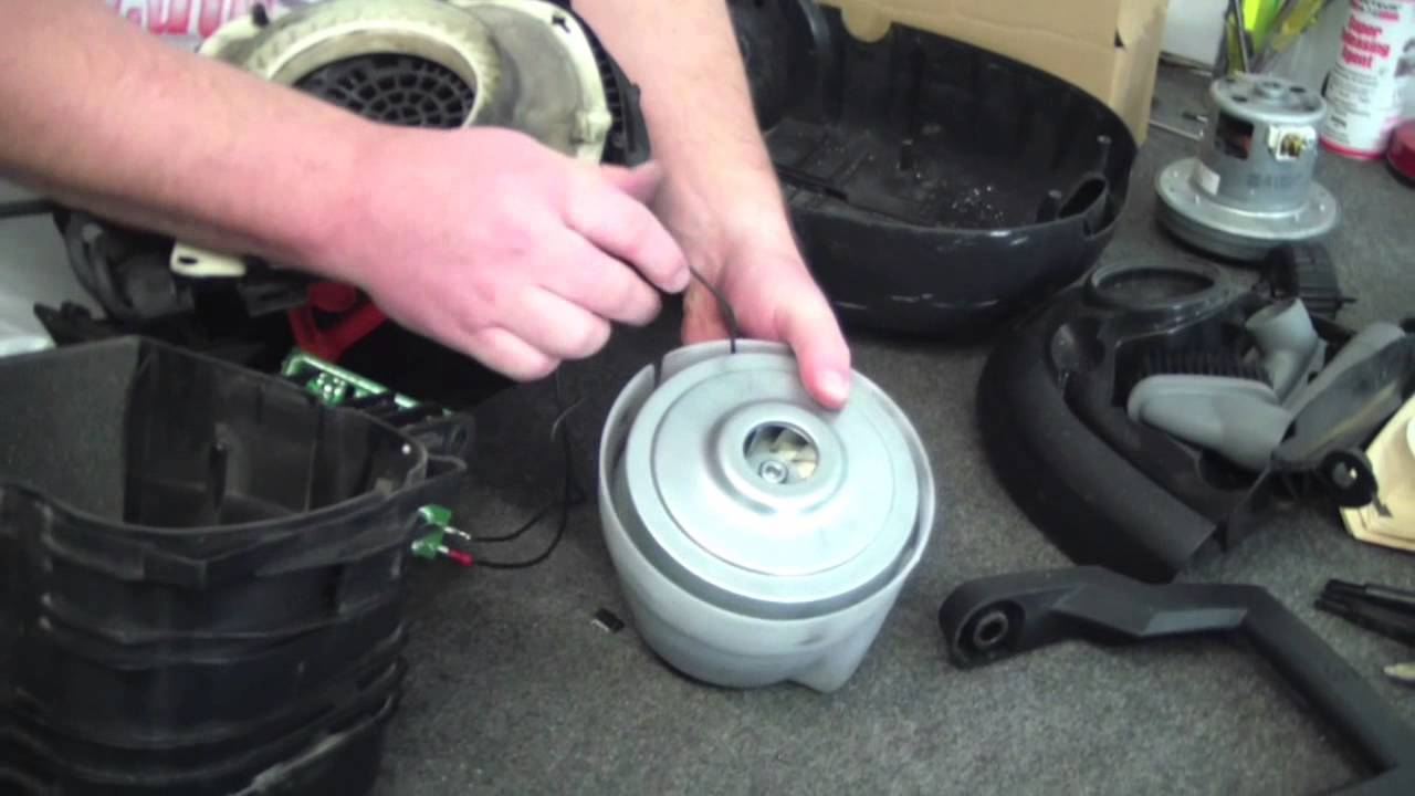 vacuum disassembly